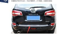 High quality stainless steel Rear bumper Protector Sill For 2009 2010 2011 2012 2013 2014 2015 2016 Renault Koleos