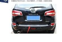 Protector de parachoques trasero de acero inoxidable, alta calidad, para Renault Koleos 2009, 2010, 2011, 2012, 2013, 2014, 2015, 2016