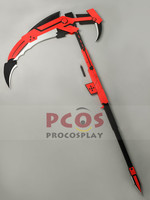 Best Price~ RWBY Red Trailer Ruby Weapon Crescent Rose Cosplay Prop mp000765