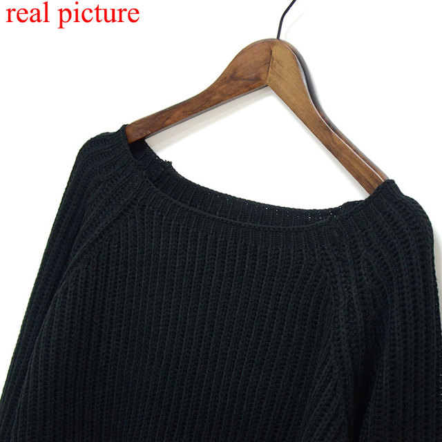 Crop Knitted Slim Sweater 4