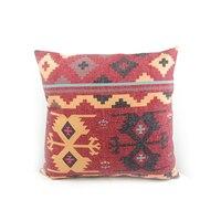 Eski kenevir tarzı Sincan yapmak Türk tarzı kilim dijital baskı yastıkları yastık keten eski gc154yg4