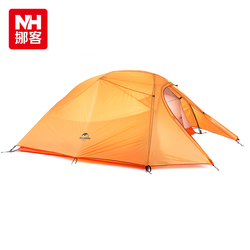 NH 3 cloud ultralight 210T plaid 4season double layer aluminum pole high grade outdoor camping tent for 3persons