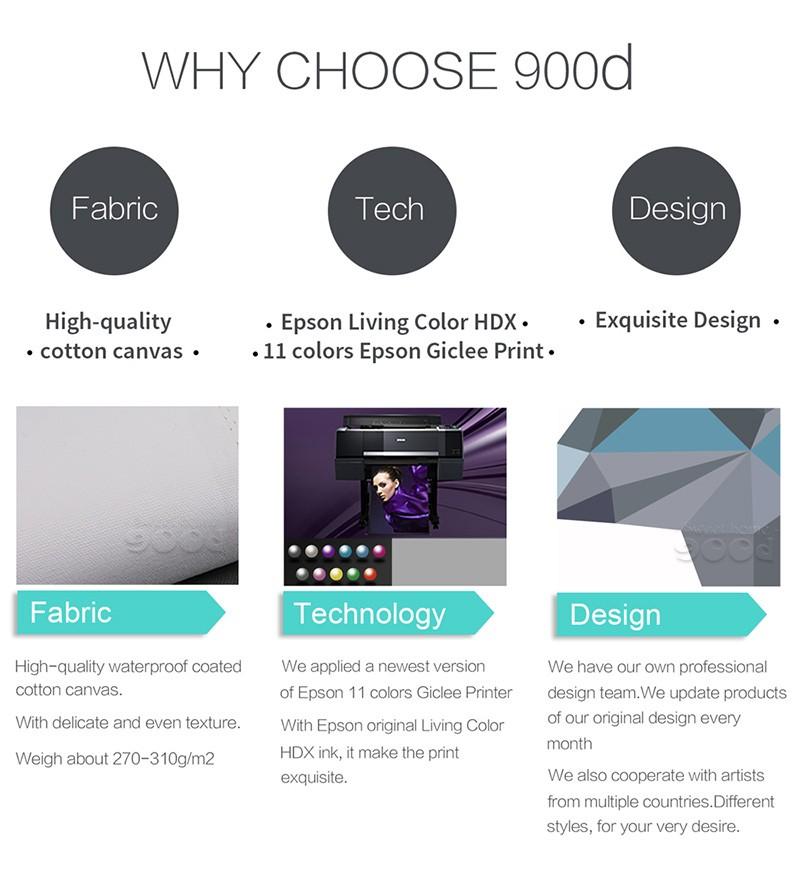 why choose 900d