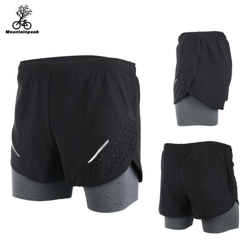 Mountainpeak 2017 Breathable 2016 Men's Sports Running Shorts Training Jogging Active Shorts Quality Dry Crossfit Shorts