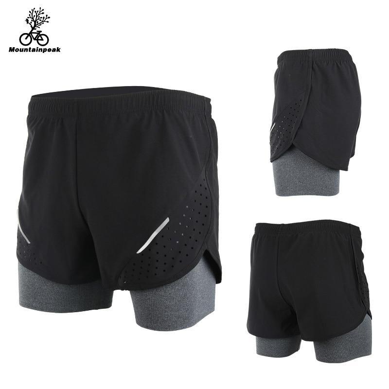 Mountainpeak 2017 Respirant Hommes Shorts de Sport de Course Formation Jogging Active Shorts Qualité Sec Crossfit Shorts