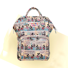 New Diaper Bag Printing Waterproof Changing Bags Large Capacity Maternity Backpack Baby Nappy