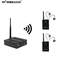 TP-WIRELESS Monitor System 2.4GHz audio Monitor System Wireless In Ear Monitor System for Stage 1 Transmitter  and N receivers