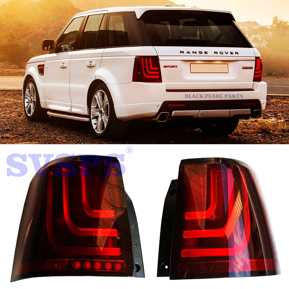 HIGH QUALITY TUNING PARTS LED TAIL LIGHTS TAIL LAMPS FOR LAND ROVER RANGE ROVER SPORT VEHICLE L320 2005-2013 YEAR new style tuning tail lamps high brightly led light bar b w style tail lights stop lights fit for toyota vios 2013 up
