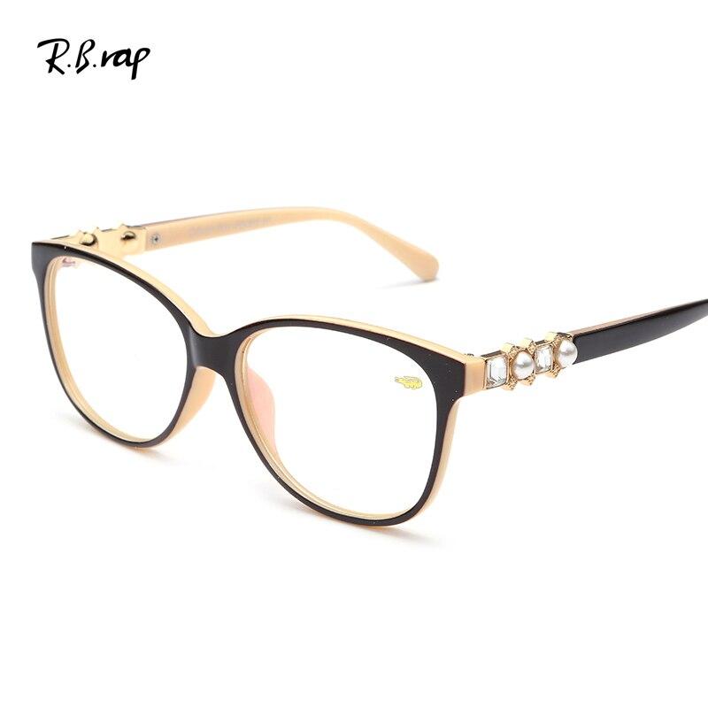 Anti-Radiation Computer Glasses Diamond Optical Frame Anti Blue Rays Men Women Butterfly Eyeglasses Frame Unisex  Glasses 2649