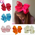 Grosgrain Ribbon Hair Bows  Hair Clips Baby Boutique Hairclips china compound bow ribbon bow headband Girls'Hair Accessories
