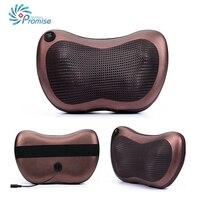 Home Car Dual Use Multifunction Dish Massager Car Massage Pillow Cervical Lumbar Leg Massager Infrared Heating