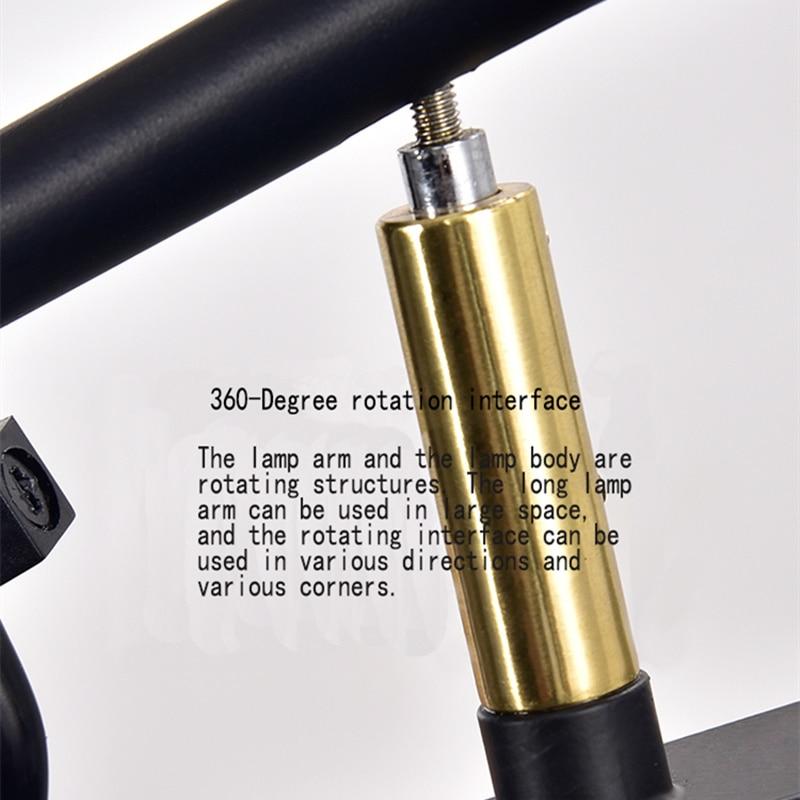 Creatieve lange arm lamp Nordic woonkamer nachtkastje studie kan draaien persoonlijkheid swing lange pole wandlamp beknopte art lamp - 4