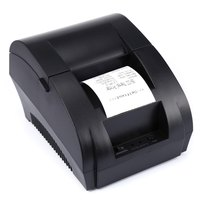 Impressora térmica de alta velocidade do recibo da posição do baixo nível de ruído 58mm do porto de usb Zj-5890K com plugue dos eua da ue