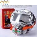 Respiradores de Máscara de evacuación de incendios Campana Máscaras de gas de Oxígeno de Emergencia 30 minutos de Humo Tóxico Filtro de Máscara De Gas con Caja de Embalaje De Escape MÁSCARA