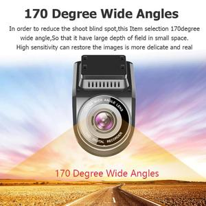 Image 4 - רכב דאש מצלמה T691C 2 אינץ 4K 2160 P/1080 P FHD דאש מצלמת 170 תואר עדשה כפולה רכב DVR מצלמה מקליט עם מובנה GPS חדש