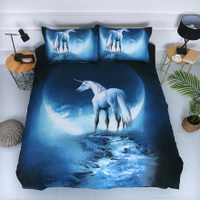 3D Bedding Sets 2/3pcs Duvet Cover Bed Sheet Pillow Cases Size EU/CN/US Queen King Universe Outer Space Themed Bed Linen