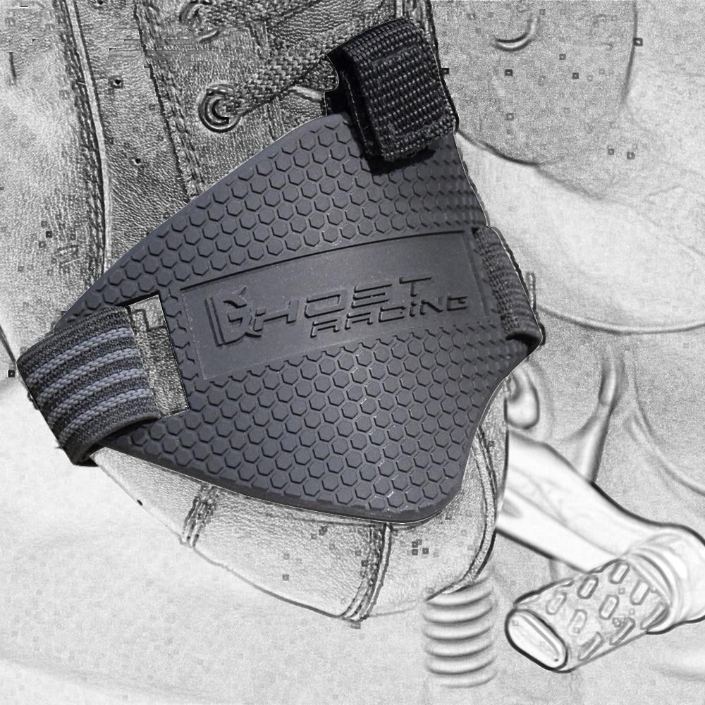 GEIST RACING Schwarz Motorrad Schuhe Schutz Motor Getriebe Shifter Schuh Stiefel Protector Umschalt Sock Boot Abdeckung