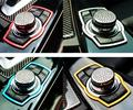 1Pcs Best Stainless Steel Vip Car Multimedia Rotating Button Decoration Ring For BMW 1/3/5/7-Series X1 X3 X4 X5 X6