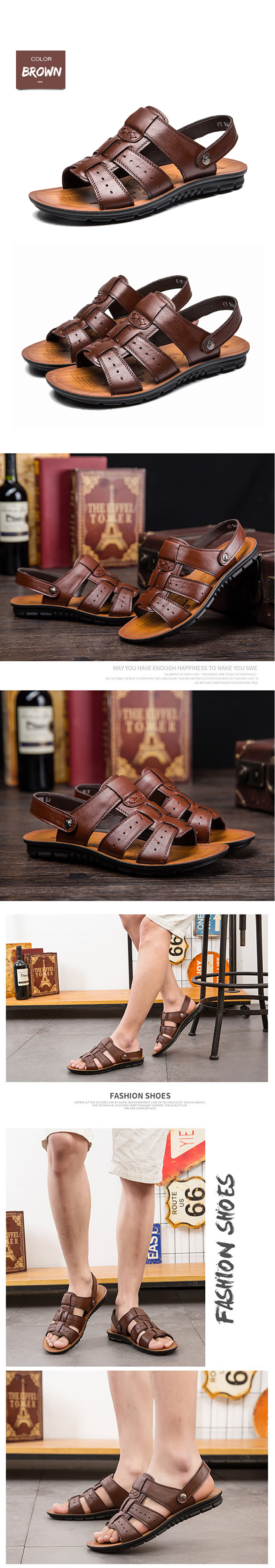 HTB1yZXbXkomBKNjSZFqq6xtqVXaU - Xammep Men Sandals Genuine Split Leather Men Beach Shoes Brand Men Casual Shoes Men Slippers Sneakers Summer Shoes Flip Flops