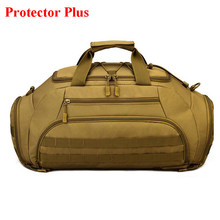 58ad05e5bf0a 2018 Protector Plus Brand Fashion Travel Bag 35L Large Capacity Luggage  Travel Duffle Bags Multi-