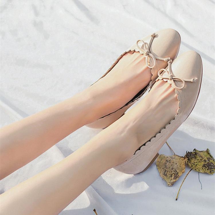 Espadrilles Ballerines Doux De Beige Flats Vague Ballerine Noir Vache Ons Chaussures Flats Femmes Nu nude Mode Flats black En 2019 Dames Slip Coupé Cuir rxWEQdoCBe