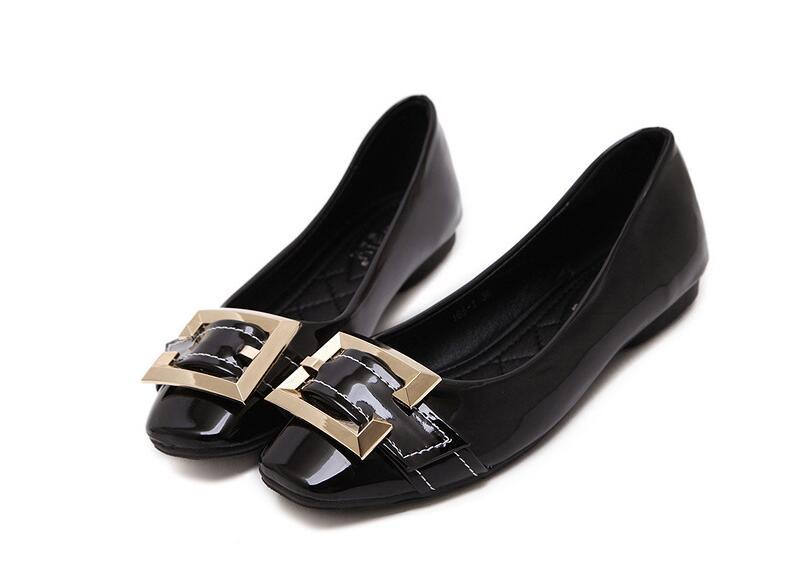 Fashion font b women b font flat shoes fall 2016 font b women s b font