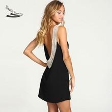 Sexy frauen sommer dress sleeveless backless chiffon spitze cocktail-party elegant dress vestidos de festa kostenloser versand 10