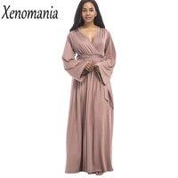 Wrap Dress Plus Size Maxi Dress Long 2017 Autumn Winter Vestidos Party Dresses Brazil Cheap Clothes