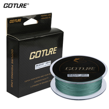 Goture New 300M 8LB-80LB 0.07-0.5mm Strong Braided Fishing Line PE Multifilament Fishing Line Carp Fishing Cord Rope 328yrd