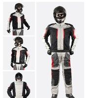 1PCS Motorcycle Clothing Motorbike Racing Jacket Motorcycle Pants Touring Riding Clothing Protective Gear Set