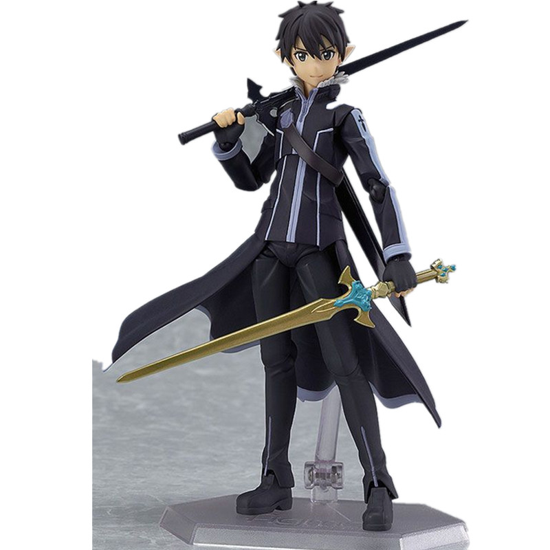 Anime toys Sword Art Online ALOver Kirigaya Kazuto PVC Model Figure Collectible Toy 14cm