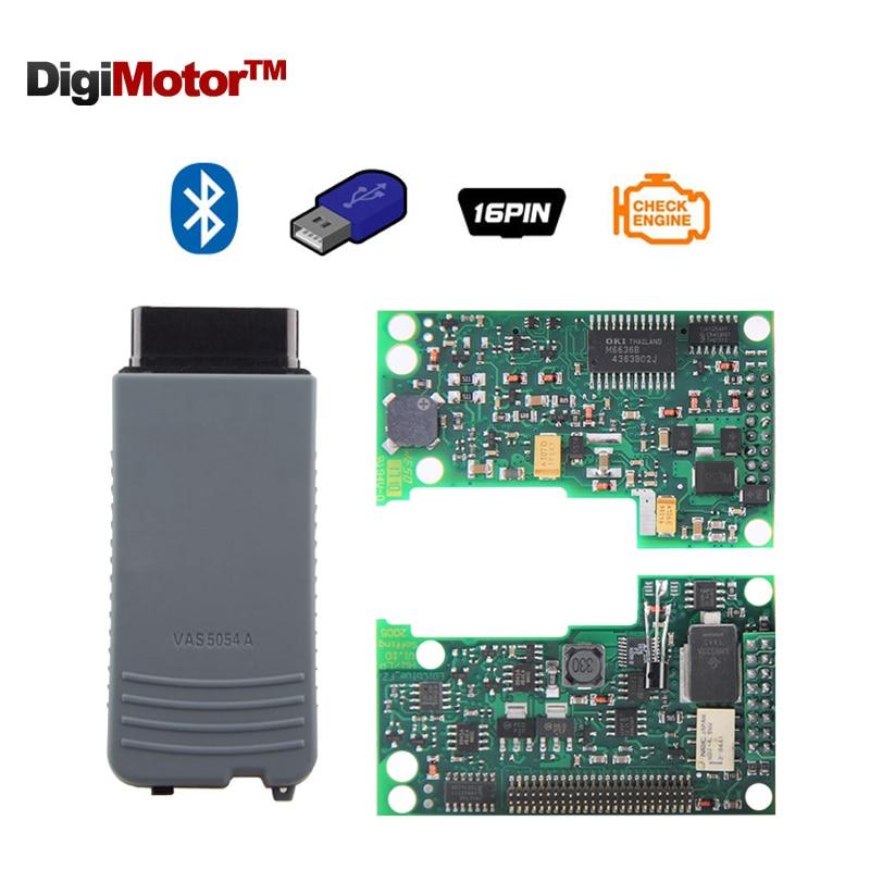 Vas5054 VAS 5054A ODIS V2 0 Bluetooth Support UDS Protocol Full Chip Version With OKI Chip
