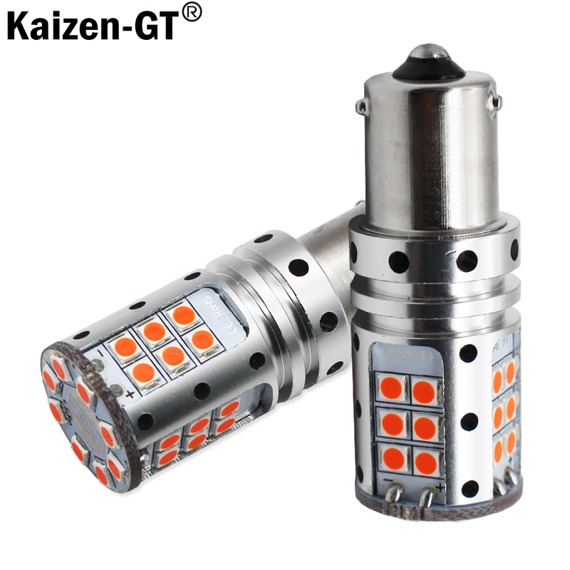 K Car Tail Light <font><b>1156</b></font> LED <font><b>Canbus</b></font> BA15S <font><b>P21W</b></font> S25 3030 9SMD Auto Brake Reverse Lamp DRL Rear Parking Bulbs,White Red Yellow image