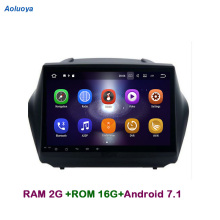 Aoluoya RAM2G Android 7.1 CAR DVD GPS Player For Hyundai IX35 IX 35 2009-2015 Radio GPS Navigation audio multimedia head unit 3G