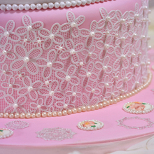Lace Mat Fondant Mould Cake Decorating Tool Chocolate Sugarcraft Mold Kitchen Accessories Flowers Silicone Mold italian onion diy silicone mold fondant cake sugarcraft baking decorating cake dessert fondant cupcake tool kitchen accessories