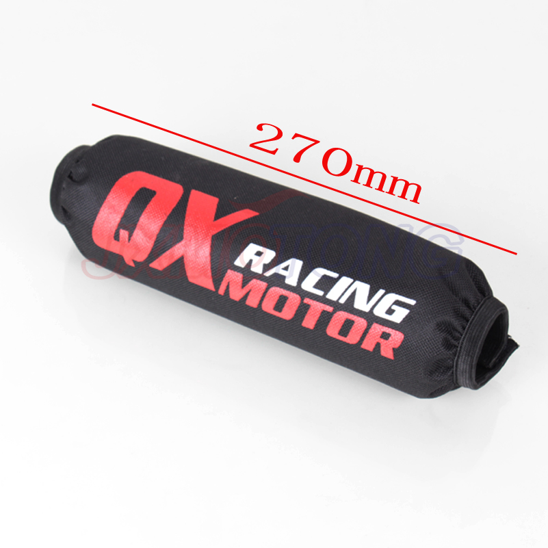 270mm Rear Shock Absorber Suspension Protector Protection Cover For CRF YZF  K T M KLX Dirt Bike Motorcycle ATV Quad Motocross