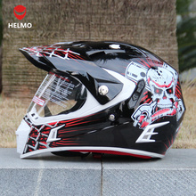 Genuine Italy HELMO motorcycle off-road helmet dual lens off-road helmet road racing helmet