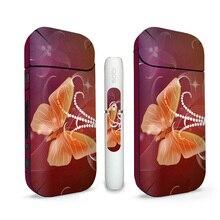 3M PVC materiāla apdruka IQOS āda IQOS 2.4 IQOS 2.4 Plus uzlīmes korpusa piedurknēm Antidust dekoratīvs aizsargvāks # 0169