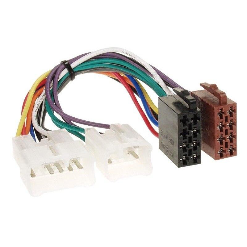 2018 ISO Car Radio Plug Adapter Wiring Cable for TOYOTA Lexus MR2 Land Cruiser RAV 4 Solara Yaris Scion Picnic цена