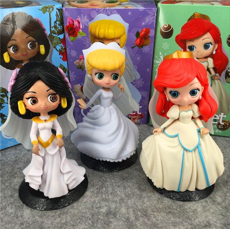 1 Stücke 16 Cm Meerjungfrau Prinzessin Serie Anime Action-figur Modell Pvc Cartoon Figuren Sammlung Spielzeug Neue Unisex Weihnachten Geschenke