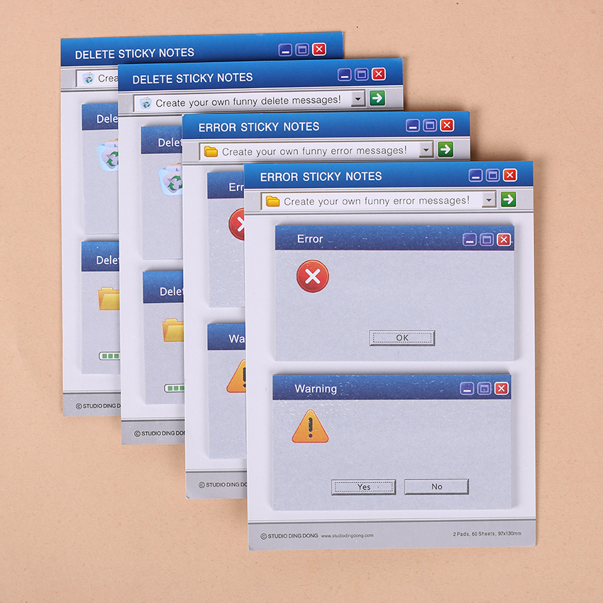 1 pc kawaii unique scrapbooking computer system shape stickers tab