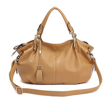 Vintage Echtem Leder Frauen Handtasche 4 Farbe Reißverschluss Korb Hohe Kapazität Elegante Weibliche Taschen Frauen Umhängetasche Bolsa Feminina
