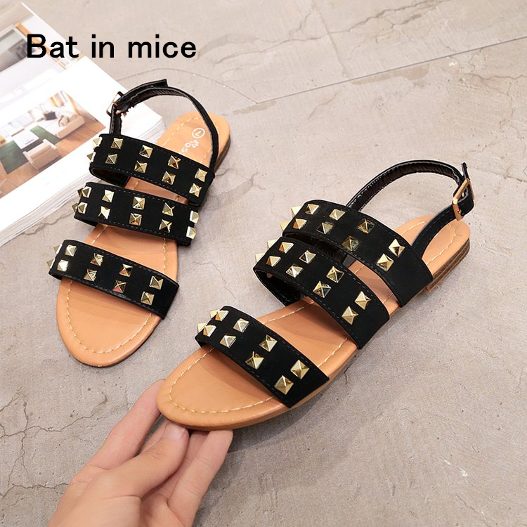 Hot sale Fashion Summer women Shoes sexy Woman sandals Flats Sandals Casual women Sandals Shoes Mujer plus size 36-41 A077 main hunter trident mh79