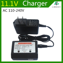 цена на 11.1V Balance Charger For 3S Lipo battery For Cheerson CX20 FT012 RC Toys 11.1V balance Charger Plug Input AC 110-240V Free Ship