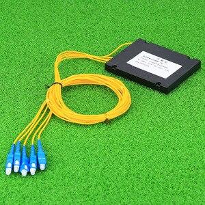 Image 2 - KELUSHI NEUE 1x4 Telecom PLC Kassette SC Kompakte Optische Splitter Planaren Wellenleiter Faser Optische Verzweigung Gerät