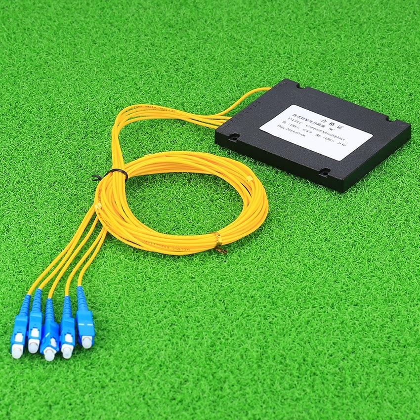 Image 2 - KELUSHI NEW 1x4 Telecom PLC Cassette SC Compact Optical Splitter Planar Waveguide Fiber Optical Branching Device-in Fiber Optic Equipments from Cellphones & Telecommunications