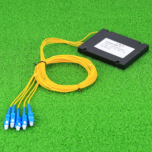 Image 2 - Kelushi新 1 × 4 テレコムplcカセットscコンパクト光スプリッタ平面導波路繊維光学分岐デバイス