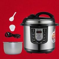 12 л скороварка программируемая Мультиварка электрическая плита антипригарная кухонная кастрюля с подогревом пищевой контейнер