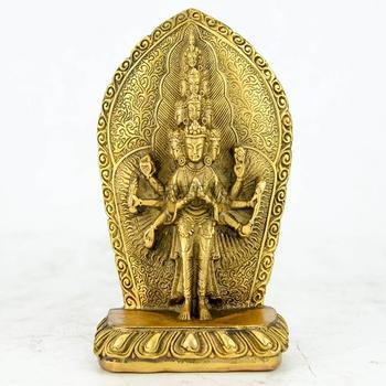 Thousand Buddha Guanyin Bodhisattva worship Buddha handicraft free delivery