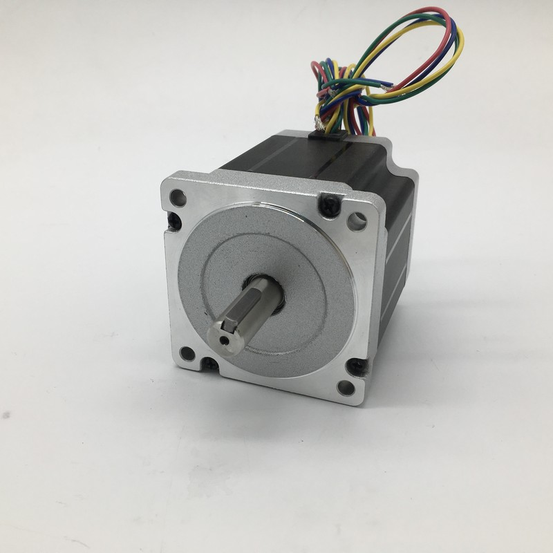 Stepper Motor Nema34 86*80mm 4A 4Nm 580Oz-in 2ph 4 Wires High Torque for CNC Router Lathe